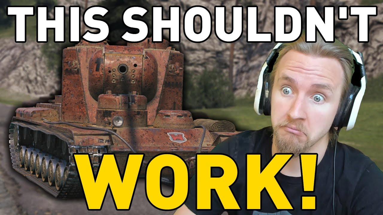This Shouldn't Have Worked... World of Tanks