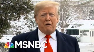 Turns Out Many Clemson Players Didn't Join President Donald Trump For Fast Food | All In | MSNBC