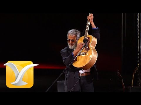 Yusuf Cat Steven, Ruby Love-Morning Has Broken-Peace Train, Festival de Viña 2015 HD 1080p