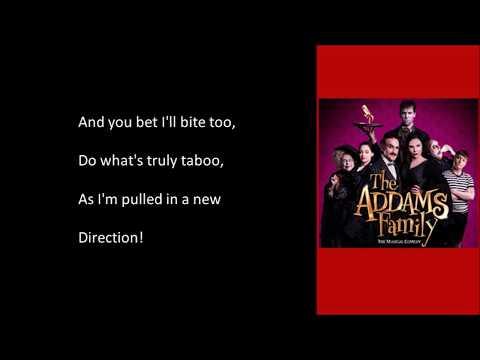 Pulled - The Addams Family - Instrumental - Original Key