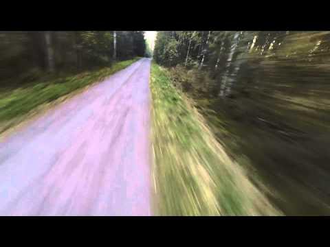 DJI Phantom - Crazy flying at top speed