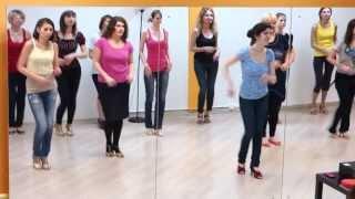 Танец сальса - одна восьмёрка из жизни девочки
