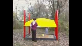New Early Childhood Shade and Sandbox Turtle Top Minnesota Playground