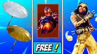 Fortnite How To Get RUIN / STAGE 5 PRISONER! LUXE Skin STYLE KEY LOCATION! PARAPLUIE D'OR / DIAMANT