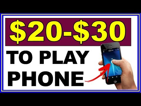 Earn $20-$30 Each 60 Min with your Phone NOW! (Nothing Else!)