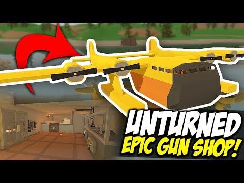 EPIC GUN SHOP  Unturned Mobile Store