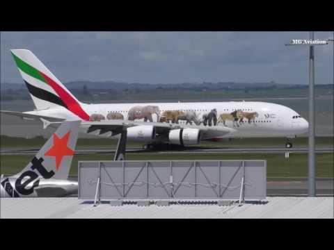 AUCKLAND AIRPORT PLANESPOTTING HIGHLIGHTS