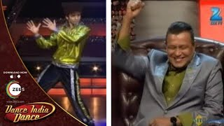 Raghav INCREDIBLE Dance On Mithunda's Songs - Dance India Dance Season 3