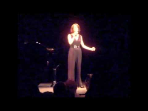 "Karen Ziemba sings ""New York New York"""