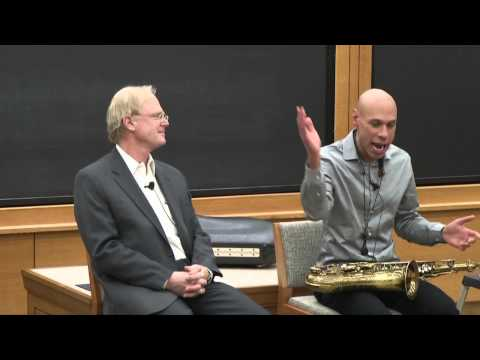 William Fisher, CopyrightX: Special Event- Creativity, feat. Joshua Redman