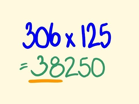 Math tricks for fast calculation