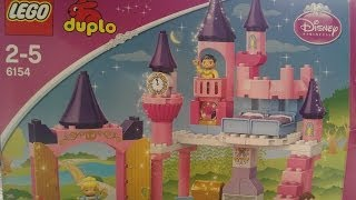 Elsa's How To Build The Duplo Cinderella Castle - Lego 6154
