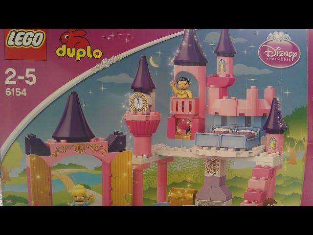 Elsas how to build the Duplo Cinderella Castle - Lego 6154