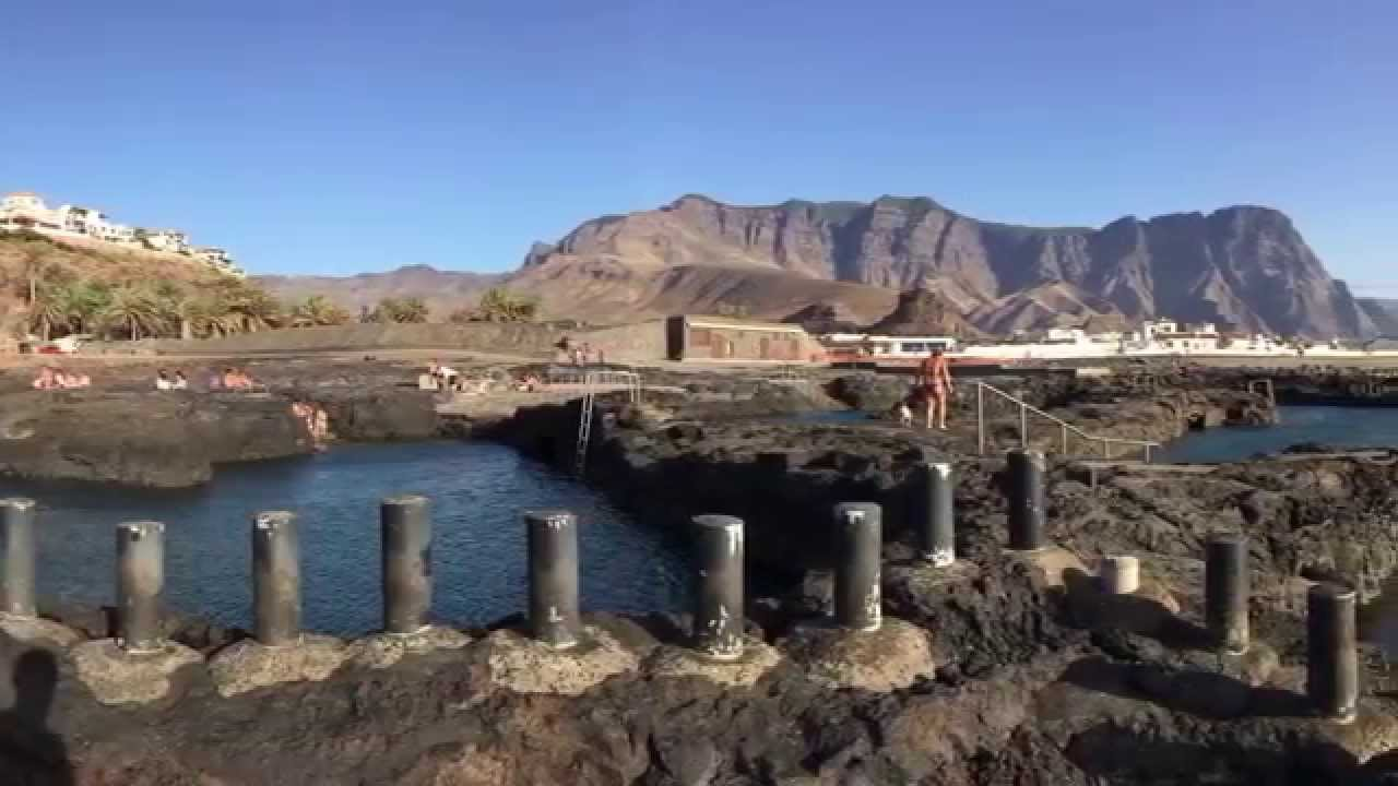 agaete piscinas naturales agaete natural pools youtube
