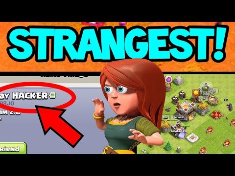 The STRANGEST Clash of Clans Villages -