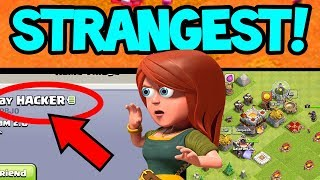 "The STRANGEST Clash of Clans Villages - ""HACKER""?  ALL in ONE Clan!"