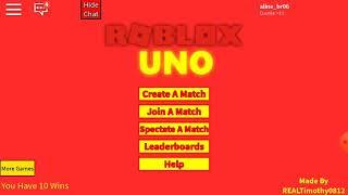 Who won? ROBLOX-UNO