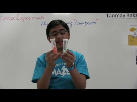 "Science Experiments: The Amazing ""Amazeum""! - the Hershey's Icebreaker Experiment"