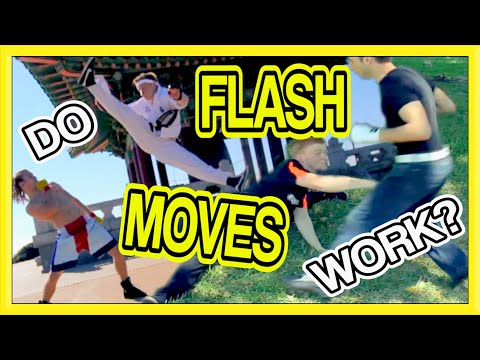 Do Flash Moves Work in a Fight? | GNT Martial Arts Q&A