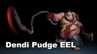 Dendi Pudge in European Elite League Dota 2