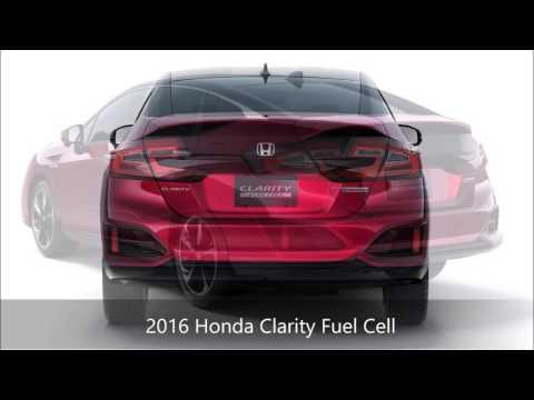 2016 Honda Clarity Fuel Cell From Milton Martin Honda Serving Atlanta, Athens And Gainesville, GA!