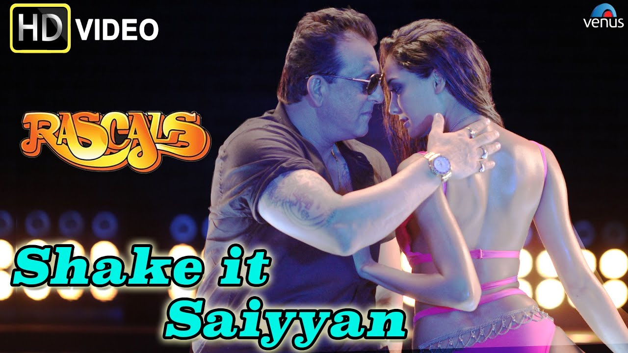 shake it saiyyan (hd) full video song | rascals | sanjay dutt, lisa