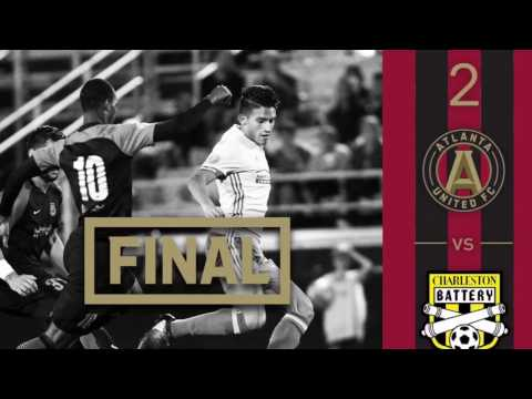 2017 Atlanta United FC vs Charleston Battery - Carolina Challenge Cup Highlights 2/25/17  |  FT: 2-1
