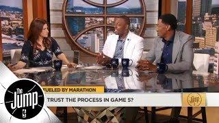 Paul Pierce's 76ers-Celtics Game 5 prediction: I trust the process of elimination | The Jump | ESPN