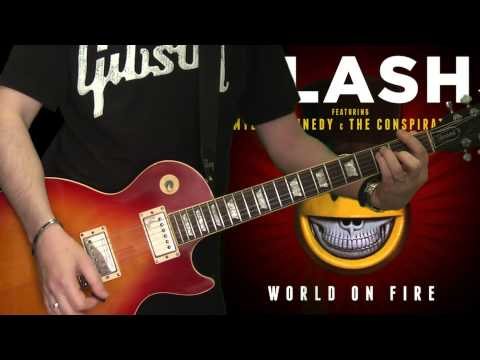 Slash & Myles Kennedy – Bent To Fly (full guitar cover)