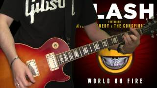 Slash & Myles Kennedy - Bent To Fly (full guitar cover)