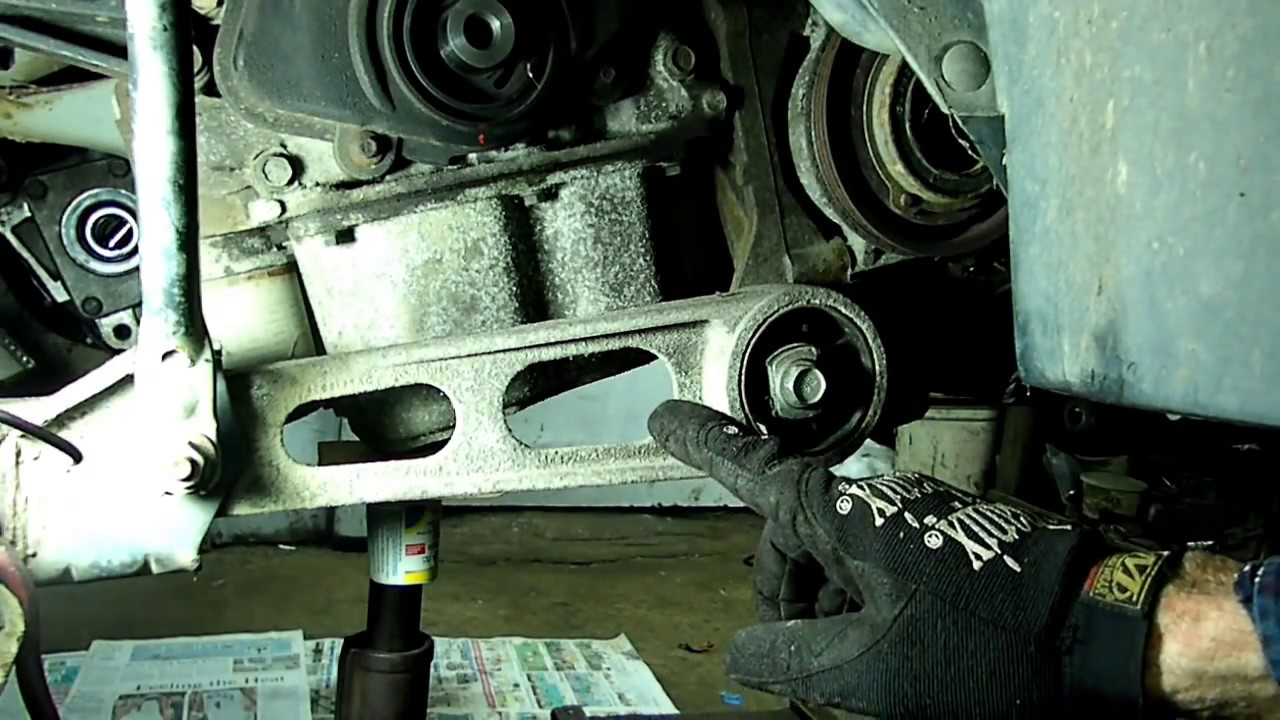 dodge neon water pump location