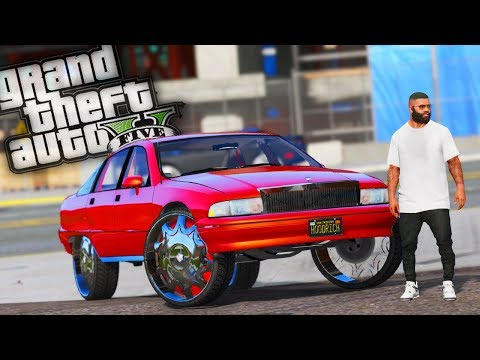 New Chevy Caprice DONK & Franklins' House Gets Ambushed! - GTA 5 Real Hood Life - Day 37