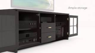 Sonax B-601-BWT TV Bench