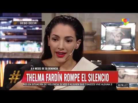 Thelma Fardin rompe el silencio en Debo Decir (10-03-2019)