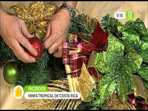 Arreglos Florales para Navidad YouTube