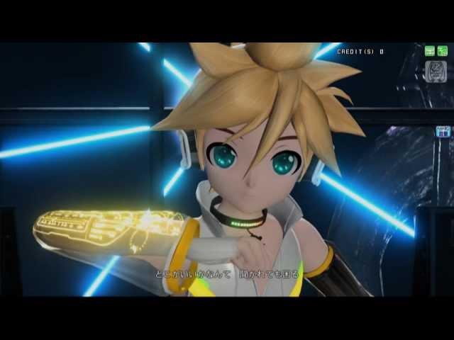 【Project DIVA Arcade】右肩の蝶 ~鏡音レン アペンド~【PV/1080p】