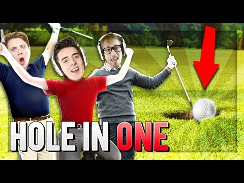 A HOLE IN ONE! (Golf with Friends)