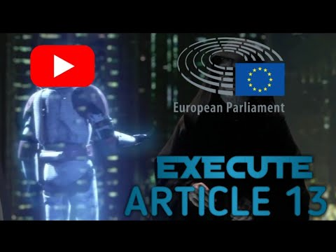 European Parliament executes Article 13   Janobot [Artikel 13] Mp3