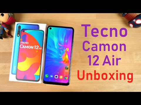 Tecno Camon 12 Air Unboxing, Specs, Price, Hands-on Review