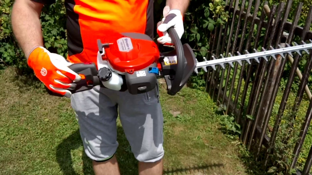 Omtalade Petrol Hedge Trimmer HUSQVARNA 122HD60 First Start - YouTube ZQ-95