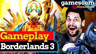 40 Minuten Koop Gameplay im exklusiven Hands On von Borderlands 3 | gamescom 2019