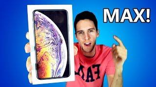 TENGO el nuevo iPhone Xs MAX... UNBOXING y LO VALE??