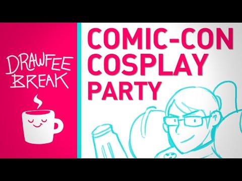 Comic-Con Cosplay Party - DRAWFEE BREAK