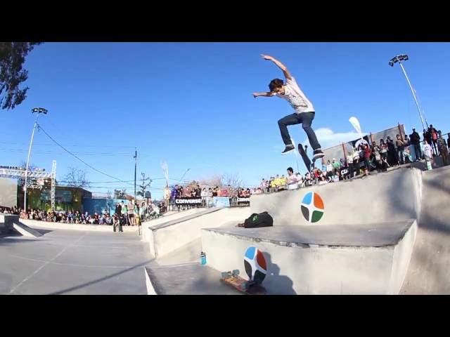 Raven Footwear - Demo inaguracion skatepark San Juan