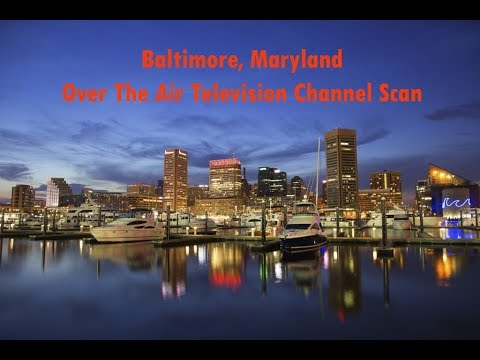 Baltimore, MD Television Channel Scan