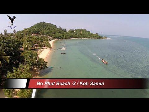 Bo Phut Beach-2 / Koh Samui Thailand overflown with my drone