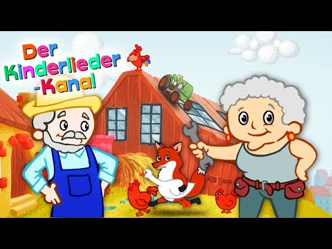 🐓 The big farm children's music parade 👩🌾  the best German children's songs to sing along