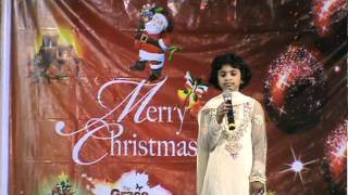 Christian Song Nee Rajyam by Hephzibah Angel (Jesus is Coming Ministries, Vizag,A.P,India).mpg