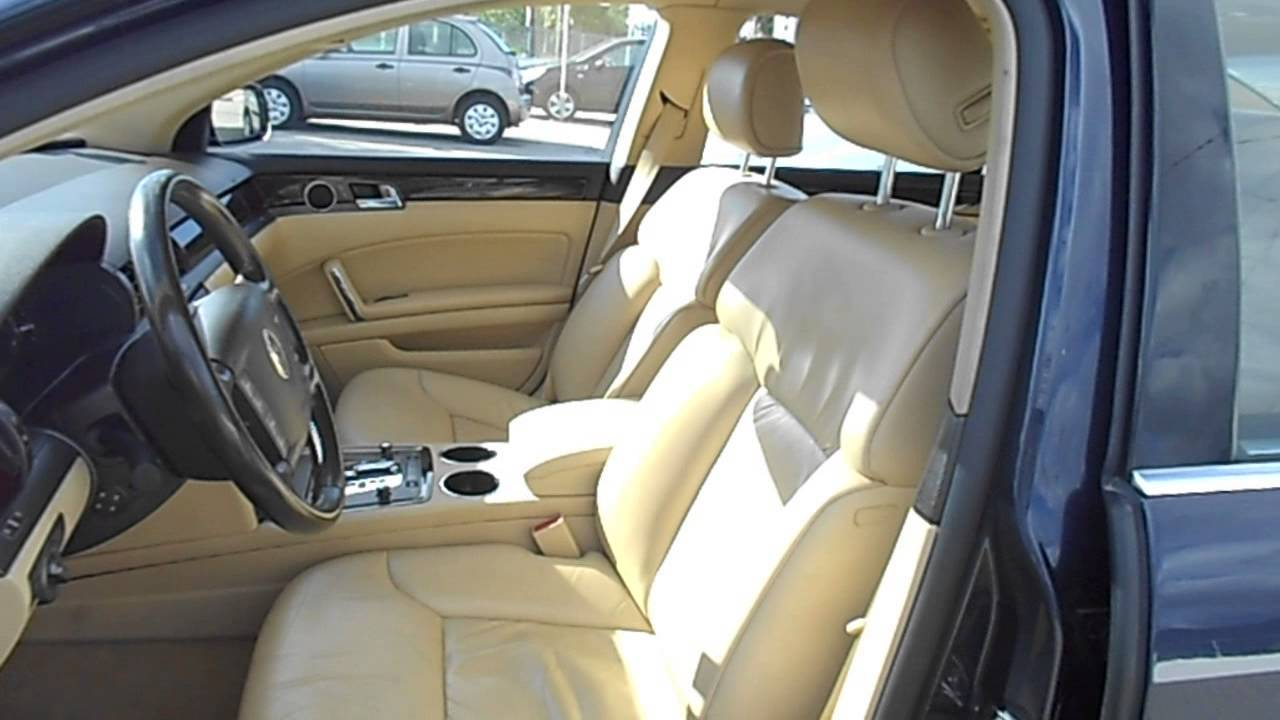 Volkswagen PHAETON 50 V10 Tdi  Usata cmmotorit  YouTube