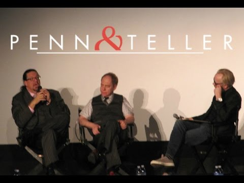 Penn & Teller with Adam Savage | SF Sketchfest